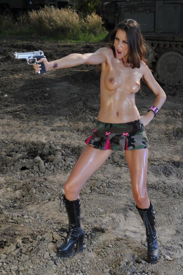 Cyber Angel Amanda topless