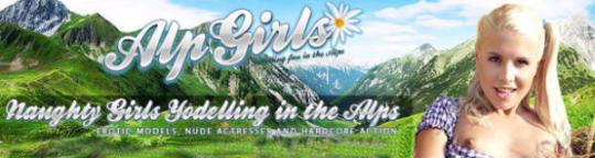 Girl from the ALPS like Austria Switzerland Bavaria and Tyrolia