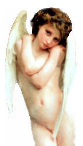 nude angel left side