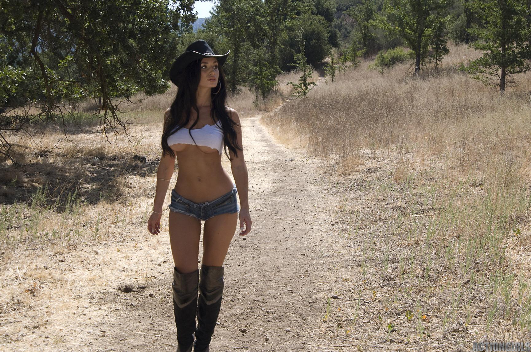 Cyber Angel Rosie cosplay cowgirl