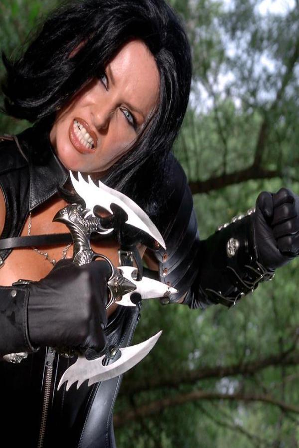 Cyber Angel Vanessa acting bad